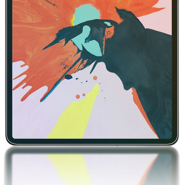 "NALIA Schutz-Glas kompatibel mit Apple iPad Pro 2018 (12,9""), 2.5D Round Edge Full-Cover Display-Schutzfolie durchsichtig / 0.3mm Tablet Abdeckung Schutzfolie Hartglas Panzerfolie - Kristall Klar – Bild 5"