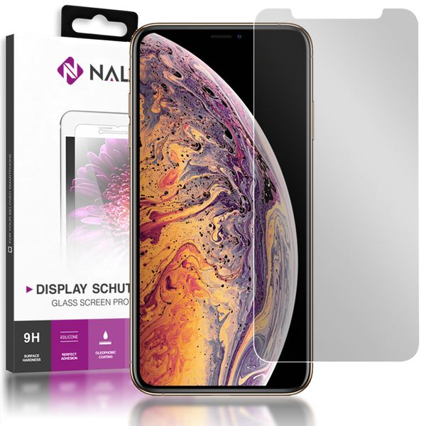 NALIA Sicht-Schutzglas kompatibel mit iPhone X XS, Anti Spy Blickschutz Glas Privacy Filter Full-Cover 9H Displayschutz-Folie, Phone Schutzglas Screen Protector Volle Bildschirm Display-Abdeckung – Bild 1