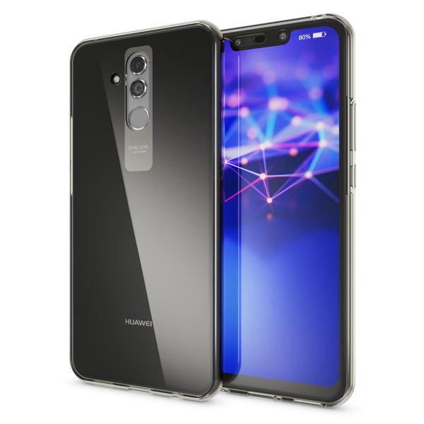 NALIA 360 Grad Hülle kompatibel mit Huawei Mate20 Lite, Full Cover Handyhülle Rundum Doppel-Schutz, Dünnes Ganzkörper Silikon Etui Case Transparenter Displayschutz & Rückseite – Bild 3
