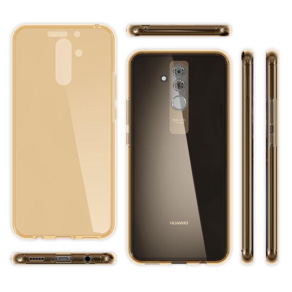 NALIA 360 Grad Hülle kompatibel mit Huawei Mate20 Lite, Full Cover Handyhülle Rundum Doppel-Schutz, Dünnes Ganzkörper Silikon Etui Case Transparenter Displayschutz & Rückseite – Bild 17