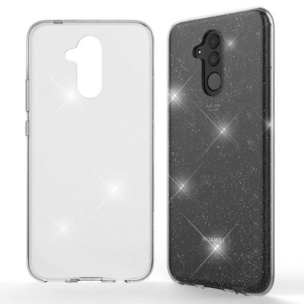 NALIA Glitter Hülle kompatibel mit Huawei Mate20 Lite, Glitzer Handyhülle Ultra-Slim Silikon Case Cover Schutzhülle, Bling Handy-Tasche Bumper, Dünnes Strass Smart-Phone Backcover – Bild 8
