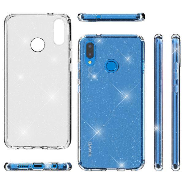 NALIA Glitter Hülle kompatibel mit Huawei P20 Lite, Glitzer Handyhülle Ultra-Slim Silikon Case Cover Schutzhülle, Bling Handy-Tasche Bumper, Dünnes Strass Smart-Phone Backcover – Bild 8