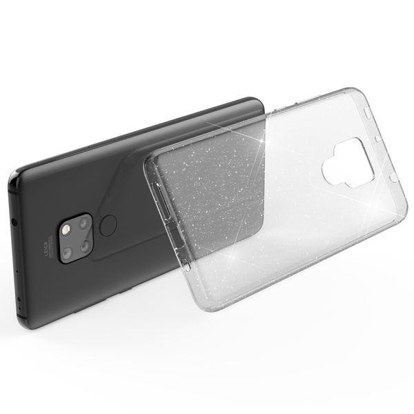 NALIA Glitter Hülle kompatibel mit Huawei Mate20, Glitzer Handyhülle Ultra-Slim Silikon Case Cover Schutzhülle, Bling Handy-Tasche Bumper, Dünnes Strass Smart-Phone Backcover – Bild 3
