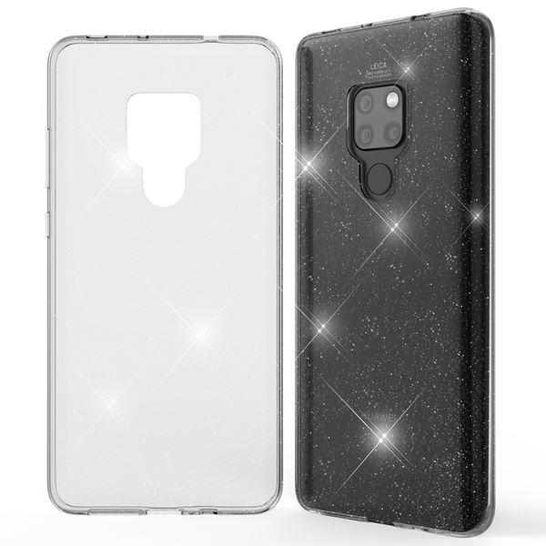 NALIA Glitter Hülle kompatibel mit Huawei Mate20, Glitzer Handyhülle Ultra-Slim Silikon Case Cover Schutzhülle, Bling Handy-Tasche Bumper, Dünnes Strass Smart-Phone Backcover – Bild 8