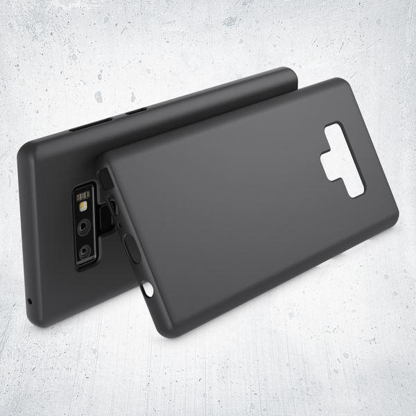 NALIA Handyhülle kompatibel mit Samsung Galaxy Note 9, Ultra-Slim TPU Silikon Hülle Neon Case, Dünnes Phone Cover Gummi Schutzhülle Skin, Etui Handy-Tasche Backcover Smartphone Bumper – Bild 3