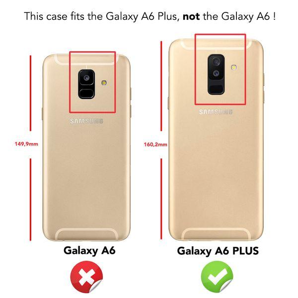 NALIA Glitter Hülle kompatibel mit Samsung Galaxy A6 Plus, Glitzer Handyhülle Ultra-Slim Silikon Case Cover Schutzhülle, Bling Handy-Tasche Bumper, Dünnes Strass Phone Backcover – Bild 4