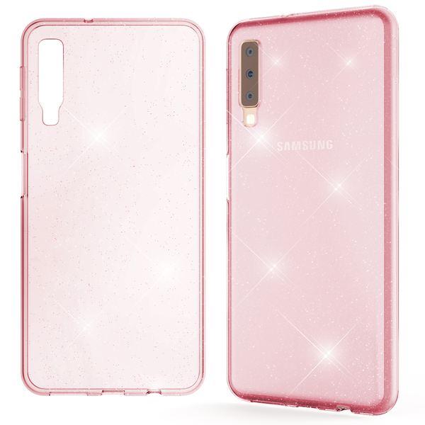 NALIA Glitter Hülle kompatibel mit Samsung Galaxy A7 2018, Glitzer Handyhülle Ultra-Slim Silikon Case Cover Schutzhülle, Bling Handy-Tasche Bumper, Dünnes Strass Phone Backcover – Bild 14