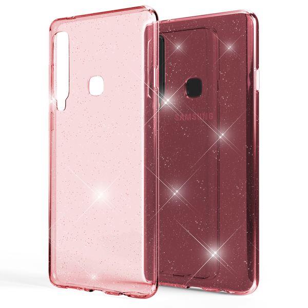 NALIA Glitter Hülle kompatibel mit Samsung Galaxy A9 2018, Glitzer Handyhülle Ultra-Slim Silikon Case Cover Schutzhülle, Bling Handy-Tasche Bumper, Dünnes Strass Phone Backcover – Bild 9
