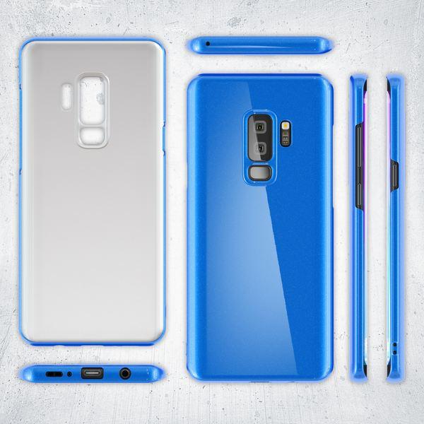 NALIA Handyhülle kompatibel mit Samsung Galaxy S9 Plus, Dünne Hülle Phone Hardcase Schutzhülle, Ultra-Slim Cover Case Etui Handy-Tasche, Thin Smartphone Schutz Backcover Skin Bumper  – Bild 14