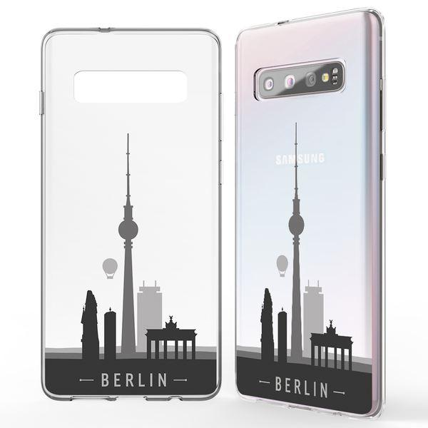 NALIA Hülle kompatibel mit Samsung Galaxy S10, Motiv Handyhülle Slim Silikon Case Cover Schutzhülle Dünn Durchsichtig, Etui Handy-Tasche Backcover Transparent Bumper Skin – Bild 5