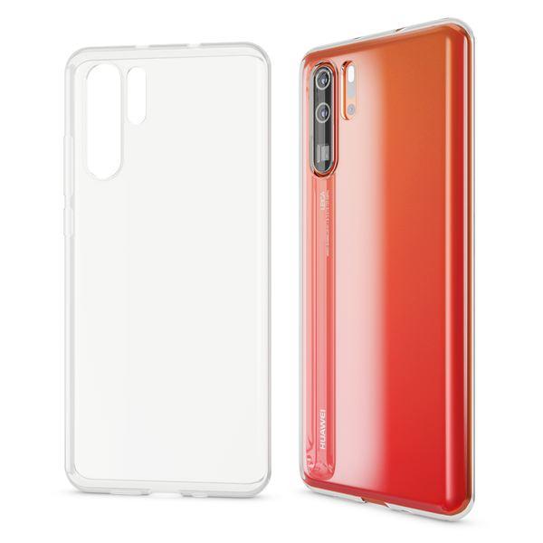 NALIA Hülle kompatibel mit Huawei P30 Pro, Ultra-Slim Crystal Phone Case Clear Silikon Handyhülle Soft Cover, Dünne Handy-Tasche Schutzhülle Etui Smartphone Bumper Skin Durchsichtig - Transparent – Bild 6