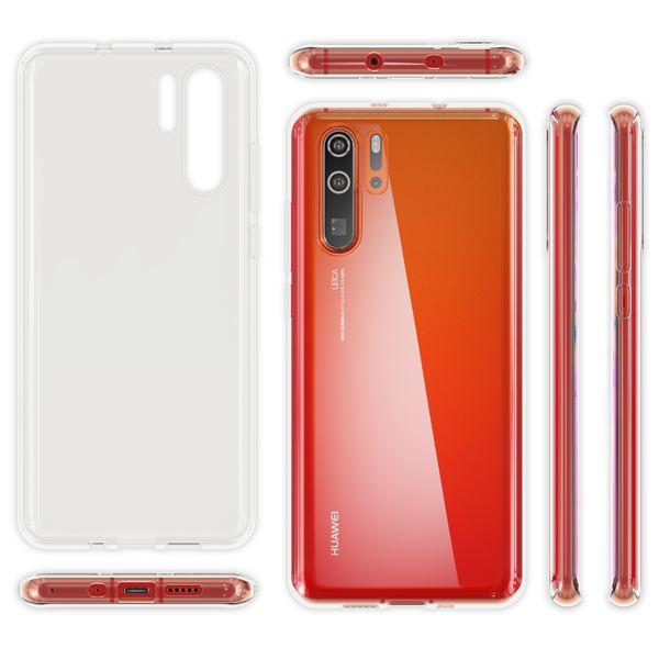 NALIA Hülle kompatibel mit Huawei P30 Pro, Ultra-Slim Crystal Phone Case Clear Silikon Handyhülle Soft Cover, Dünne Handy-Tasche Schutzhülle Etui Smartphone Bumper Skin Durchsichtig - Transparent – Bild 7