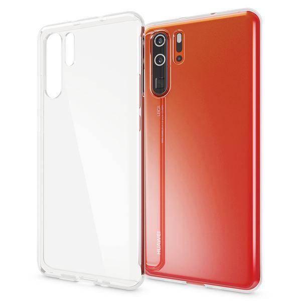 NALIA Hülle kompatibel mit Huawei P30 Pro, Ultra-Slim Crystal Phone Case Clear Silikon Handyhülle Soft Cover, Dünne Handy-Tasche Schutzhülle Etui Smartphone Bumper Skin Durchsichtig - Transparent – Bild 1