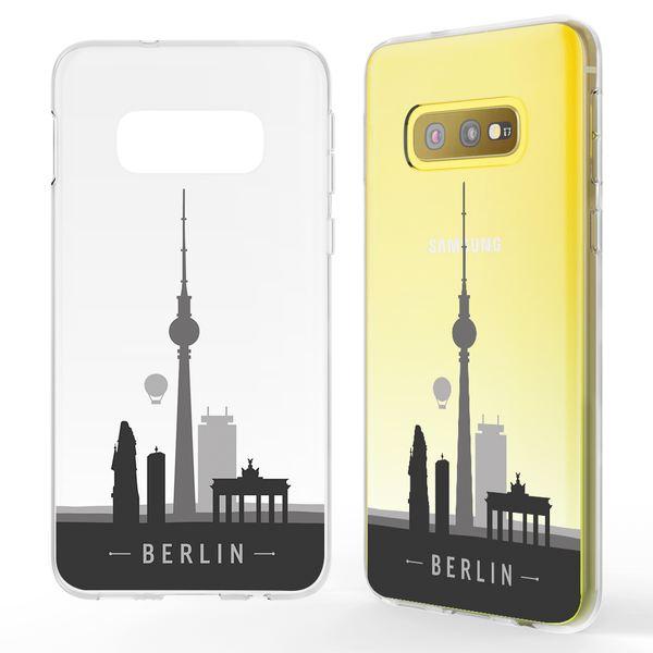 NALIA Hülle kompatibel mit Samsung Galaxy S10e, Motiv Handyhülle Slim Silikon Case Cover Schutzhülle Dünn Durchsichtig, Etui Handy-Tasche Backcover Transparent Bumper – Bild 5