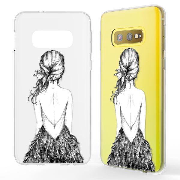 NALIA Hülle kompatibel mit Samsung Galaxy S10e, Motiv Handyhülle Slim Silikon Case Cover Schutzhülle Dünn Durchsichtig, Etui Handy-Tasche Backcover Transparent Bumper – Bild 8