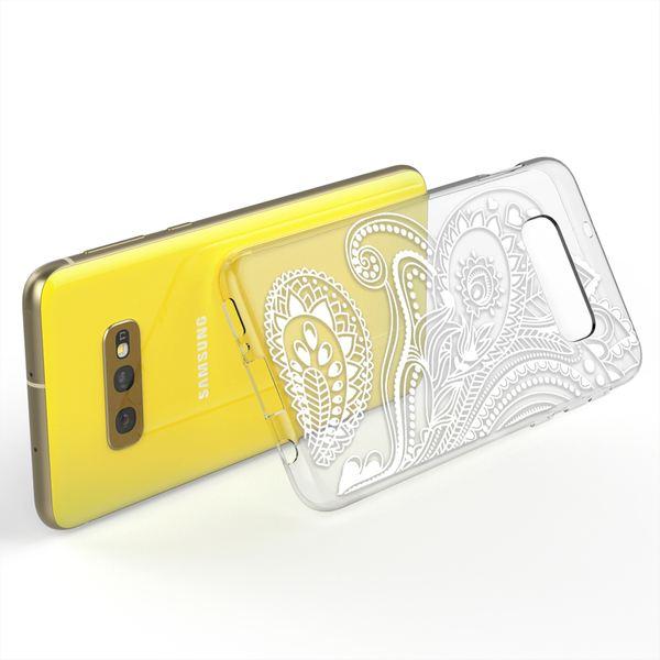 NALIA Hülle kompatibel mit Samsung Galaxy S10e, Motiv Handyhülle Slim Silikon Case Cover Schutzhülle Dünn Durchsichtig, Etui Handy-Tasche Backcover Transparent Bumper – Bild 3
