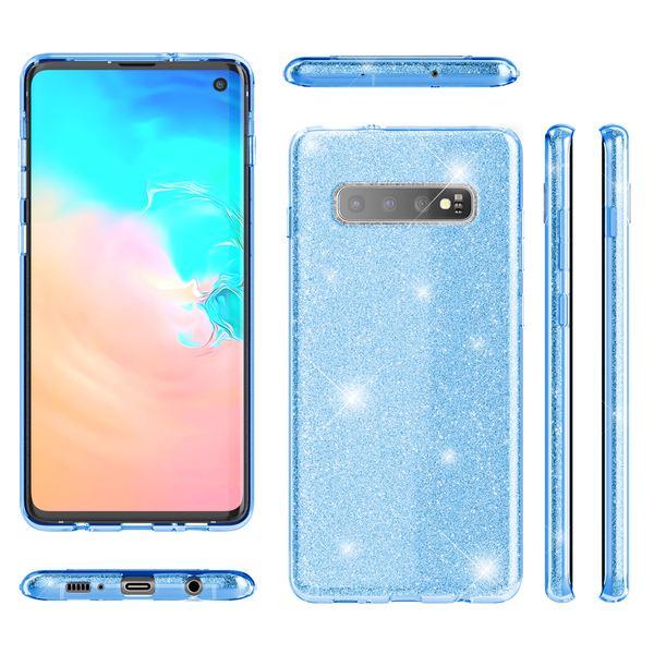 NALIA Hülle kompatibel mit Samsung Galaxy S10, Glitzer Handyhülle Ultra-Slim Silikon-Case Back-Cover Schutzhülle, Glitter Sparkle Handy-Tasche Bumper Dünnes Bling Strass Etui Schutz – Bild 8