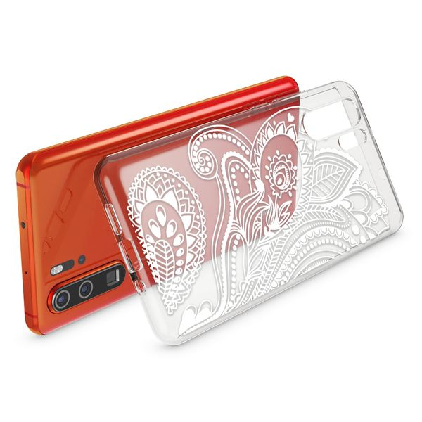 NALIA Hülle kompatibel mit Huawei P30 Pro, Motiv Handyhülle Ultra-Slim Silikon Case Crystal Cover Schutzhülle Durchsichtig Dünn, Handy-Tasche Backcover Transparent Bumper – Bild 3