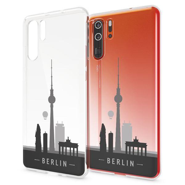 NALIA Hülle kompatibel mit Huawei P30 Pro, Motiv Handyhülle Ultra-Slim Silikon Case Crystal Cover Schutzhülle Durchsichtig Dünn, Handy-Tasche Backcover Transparent Bumper – Bild 9