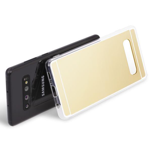 NALIA Spiegel Hülle kompatibel mit Samsung Galaxy S10, Ultra-Slim Handyhülle Mirror TPU Silikon Case, Dünne Schutz-Hülle Back-Cover Verspiegelt, Handy-Tasche Bumper Smart-Phone Etui – Bild 10