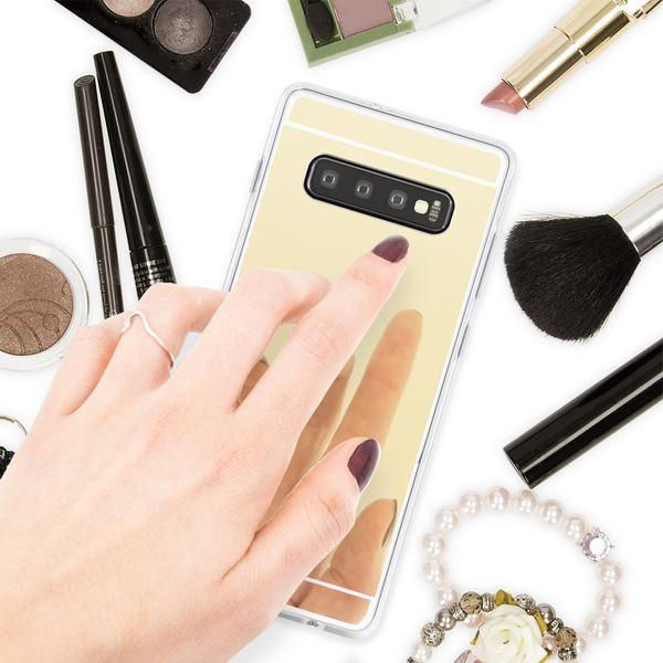 NALIA Spiegel Hülle kompatibel mit Samsung Galaxy S10, Ultra-Slim Handyhülle Mirror TPU Silikon Case, Dünne Schutz-Hülle Back-Cover Verspiegelt, Handy-Tasche Bumper Smart-Phone Etui – Bild 13