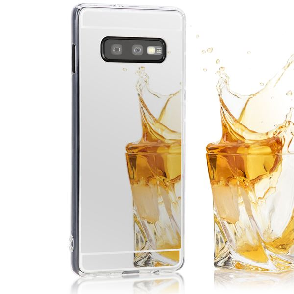 NALIA Spiegel Hülle kompatibel mit Samsung Galaxy S10e, Ultra-Slim Handyhülle Mirror TPU Silikon Case, Schutz-Hülle Dünn Back-Cover Verspiegelt, Handy-Tasche Bumper Smart-Phone Etui – Bild 2