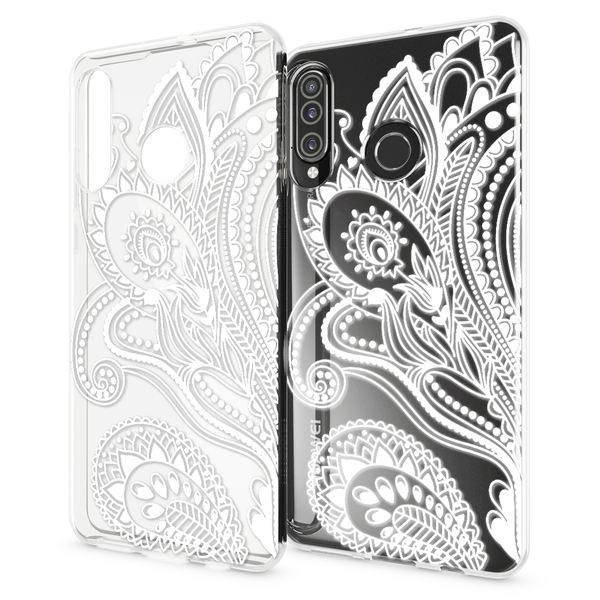 NALIA Hülle kompatibel mit Huawei P30 Lite, Motiv Handyhülle Ultra-Slim Silikon Case Crystal Cover Schutzhülle Durchsichtig, Handy-Tasche Backcover Transparent Bumper – Bild 4