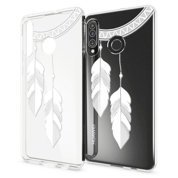 NALIA Hülle kompatibel mit Huawei P30 Lite, Motiv Handyhülle Ultra-Slim Silikon Case Crystal Cover Schutzhülle Durchsichtig, Handy-Tasche Backcover Transparent Bumper – Bild 20