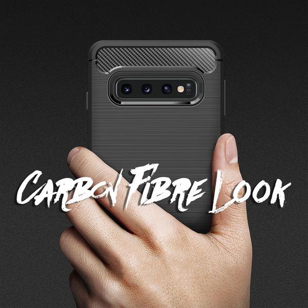 NALIA Handyhülle kompatibel mit Samsung Galaxy S10, Ultra Slim Silikon Case Cover, Dünne Crystal Phone Schutz-Hülle, Etui Handy-Tasche Back-Cover Bumper, TPU Smart-Phone Gummihülle - Schwarz – Bild 7