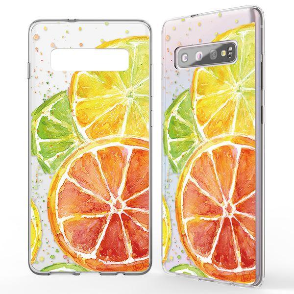 NALIA Handyhülle kompatibel mit Samsung Galaxy S10, Ultra-Slim Silikon Hülle Motiv Case Cover Crystal Schutzhülle, Durchsichtig Etui Handy-Tasche Backcover Transparent Bumper – Bild 23