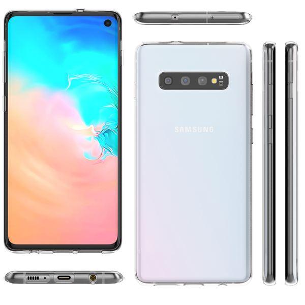 NALIA Handyhülle kompatibel mit Samsung Galaxy S10, Ultra-Slim Silikon Hülle Motiv Case Cover Crystal Schutzhülle, Durchsichtig Etui Handy-Tasche Backcover Transparent Bumper – Bild 7