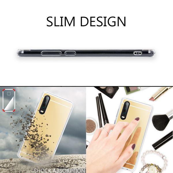NALIA Spiegel Hülle kompatibel mit Huawei P30, Ultra-Slim Handyhülle Mirror TPU Silikon Case, Dünne Schutzhülle Back-Cover Verspiegelt Handy-Tasche Bumper Smart-Phone Etui Soft Skin – Bild 10
