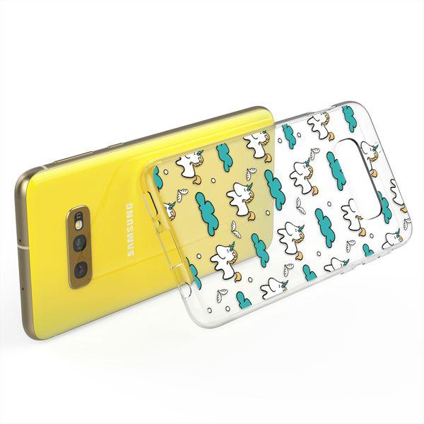 NALIA Handyhülle kompatibel mit Samsung Galaxy S10e, Slim Silikon Hülle Motiv Case Cover Crystal Schutzhülle Durchsichtig, Etui Dünn Handy-Tasche Backcover Transparent Bumper Skin – Bild 10