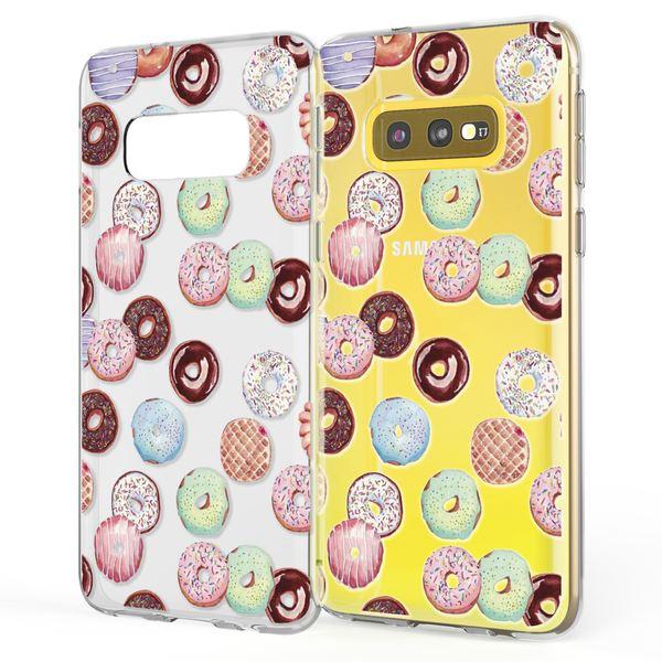 NALIA Handyhülle kompatibel mit Samsung Galaxy S10e, Slim Silikon Hülle Motiv Case Cover Crystal Schutzhülle Durchsichtig, Etui Dünn Handy-Tasche Backcover Transparent Bumper Skin – Bild 4