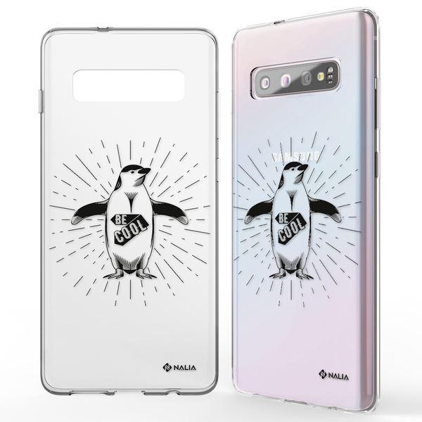 NALIA Handyhülle kompatibel mit Samsung Galaxy S10, Slim Silikon Hülle Motiv Case Cover Crystal Schutzhülle, Durchsichtig Etui Handy-Tasche Backcover Transparent Bumper – Bild 8