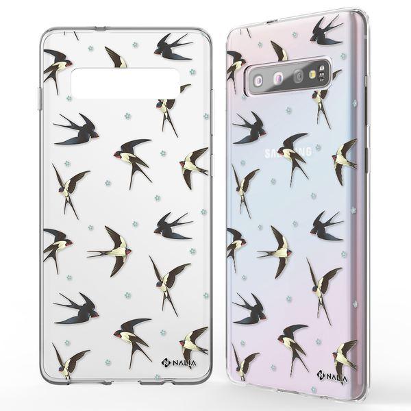 NALIA Handyhülle kompatibel mit Samsung Galaxy S10, Slim Silikon Hülle Motiv Case Cover Crystal Schutzhülle, Durchsichtig Etui Handy-Tasche Backcover Transparent Bumper – Bild 5