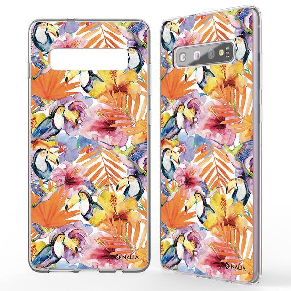NALIA Handyhülle kompatibel mit Samsung Galaxy S10, Slim Silikon Hülle Motiv Case Cover Crystal Schutzhülle, Durchsichtig Etui Handy-Tasche Backcover Transparent Bumper – Bild 23