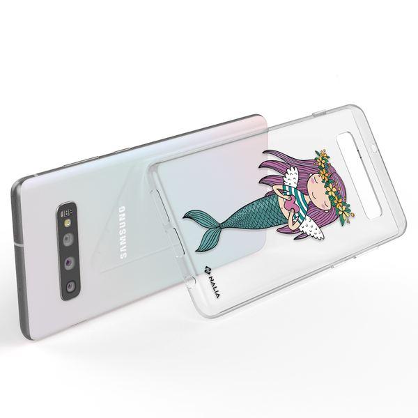 NALIA Handyhülle kompatibel mit Samsung Galaxy S10, Slim Silikon Hülle Motiv Case Cover Crystal Schutzhülle, Durchsichtig Etui Handy-Tasche Backcover Transparent Bumper – Bild 12