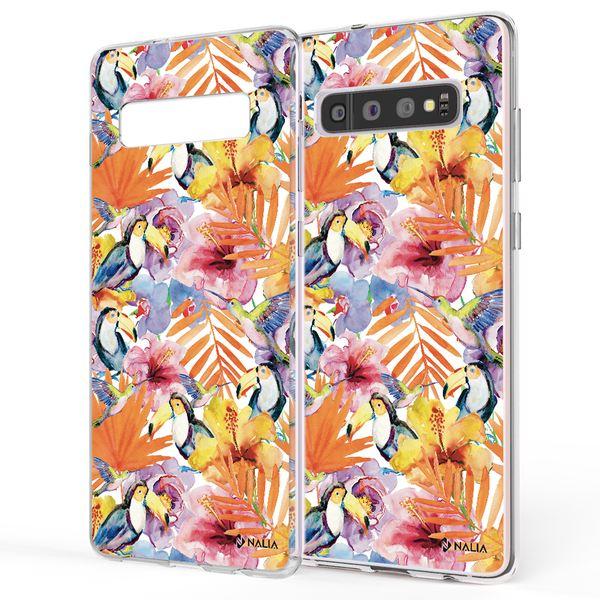 NALIA Handyhülle kompatibel mit Samsung Galaxy S10, Slim Silikon Hülle Motiv Case Cover Crystal Schutzhülle, Durchsichtig Etui Handy-Tasche Backcover Transparent Bumper – Bild 25