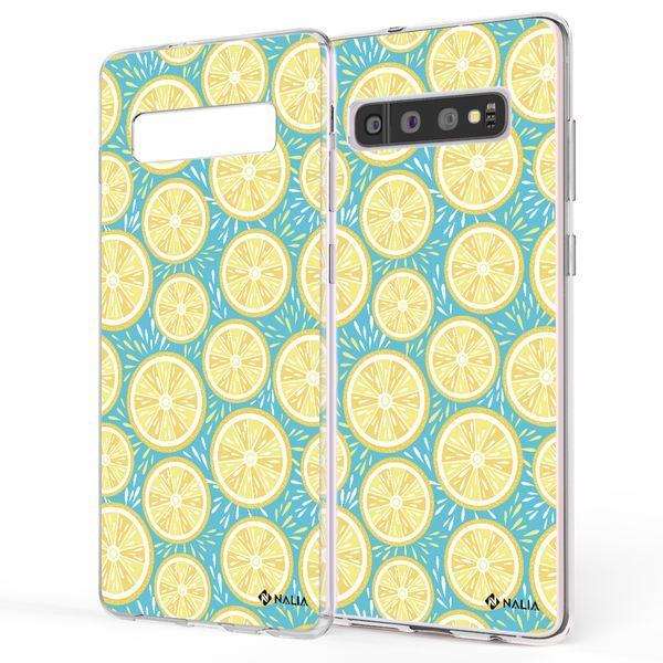 NALIA Handyhülle kompatibel mit Samsung Galaxy S10, Slim Silikon Hülle Motiv Case Cover Crystal Schutzhülle, Durchsichtig Etui Handy-Tasche Backcover Transparent Bumper – Bild 19