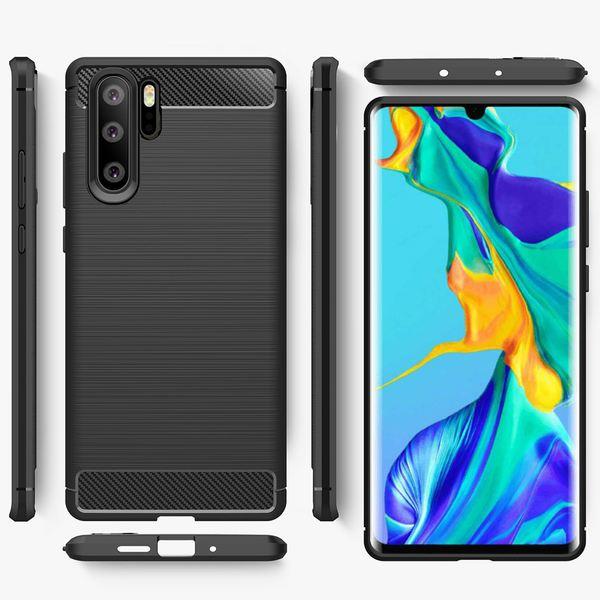 NALIA Hülle kompatibel mit Huawei P30 Pro, Handyhülle Ultra-Slim Silikon Case Cover, Dünne Crystal Phone Schutzhülle Stoßfeste Etui Handy-Tasche Backcover Bumper Gummihülle Smartphone Skin - Schwarz – Bild 7