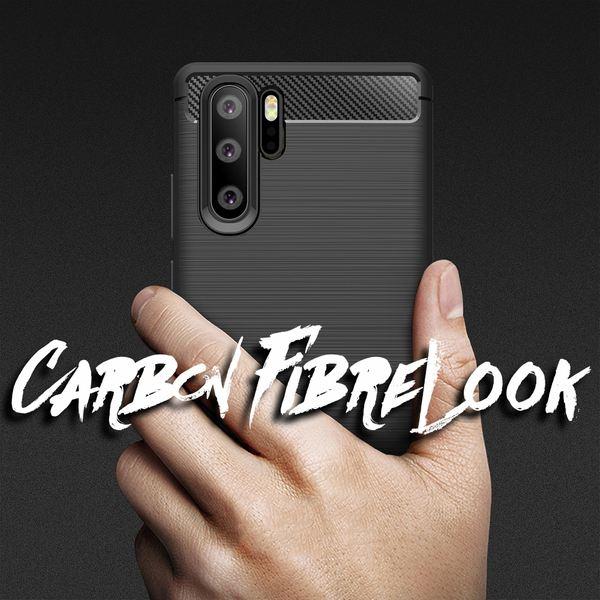 NALIA Hülle kompatibel mit Huawei P30 Pro, Handyhülle Ultra-Slim Silikon Case Cover, Dünne Crystal Phone Schutzhülle Stoßfeste Etui Handy-Tasche Backcover Bumper Gummihülle Smartphone Skin - Schwarz – Bild 6