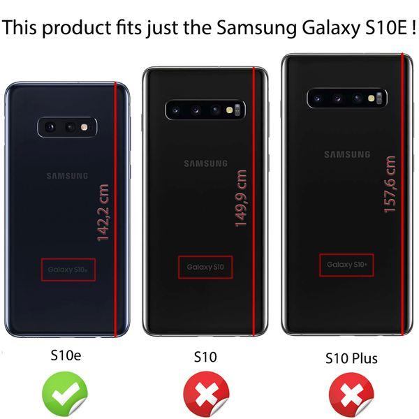 NALIA Handyhülle kompatibel mit Samsung Galaxy S10e, Slim Silikon Hülle Motiv Case Cover Crystal Schutzhülle, Durchsichtig Etui Handy-Tasche Backcover Transparent Bumper – Bild 19