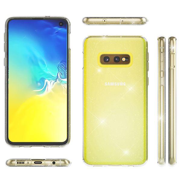 NALIA Glitter Hülle kompatibel mit Samsung Galaxy S10e, Glitzer Handyhülle Ultra-Slim Silikon Case Cover Schutzhülle, Bling Handy-Tasche Bumper, Dünnes Strass Smartphone Backcover – Bild 7