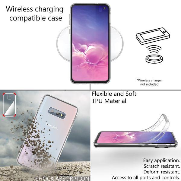 NALIA 360 Grad Handyhülle kompatibel mit Samsung Galaxy S10e, Full-Cover Silikon Bumper Displayschutz vorne Hardcase hinten, Rundum Hülle Doppel-Schutz, Dünn Ganzkörper Case – Bild 6