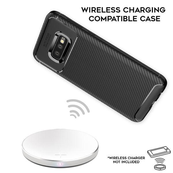 NALIA Hülle kompatibel mit Samsung Galaxy S10e, Carbon Look Ultra-Slim Handyhülle Silikon Case Cover, Dünne Schutzhülle Skin Gel Etui Handy-Tasche Soft Backcover Thin-Fit Smart-Phone Bumper – Schwarz – Bild 5