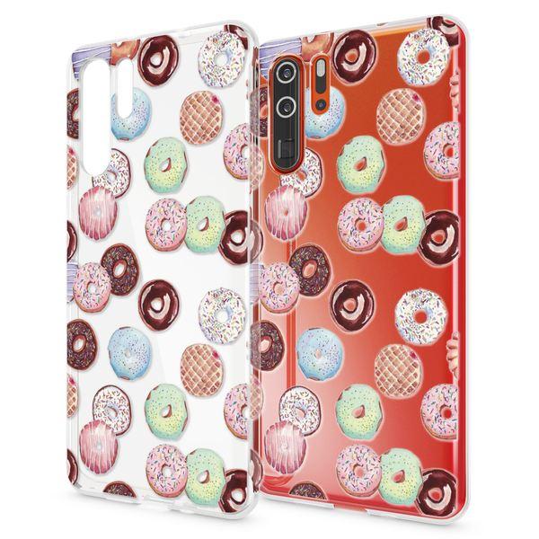 NALIA Hülle kompatibel mit Huawei P30 Pro, Motiv Handyhülle Ultra-Slim Silikon Case Crystal Cover Schutzhülle Durchsichtig, Dünne Handy-Tasche Backcover Etui Transparent Bumper – Bild 7