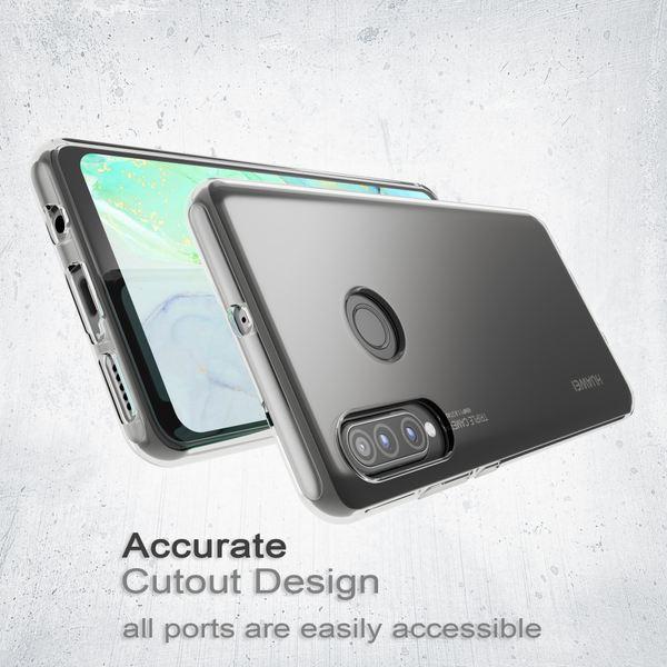 NALIA Hülle kompatibel mit Huawei P30 Lite, Motiv Handyhülle Ultra-Slim Silikon Case Crystal Cover Schutzhülle Durchsichtig, Dünne Handy-Tasche Backcover Etui Transparent Bumper – Bild 4