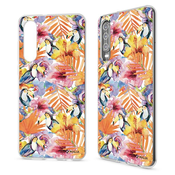 NALIA Hülle kompatibel mit Huawei P30, Motiv Handyhülle Ultra-Slim Silikon Case Crystal Cover Schutzhülle Durchsichtig, Dünne Handy-Tasche Backcover Etui Transparent Bumper – Bild 23