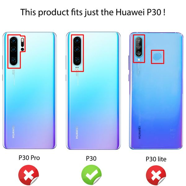NALIA Hülle kompatibel mit Huawei P30, Motiv Handyhülle Ultra-Slim Silikon Case Crystal Cover Schutzhülle Durchsichtig, Dünne Handy-Tasche Backcover Etui Transparent Bumper – Bild 19